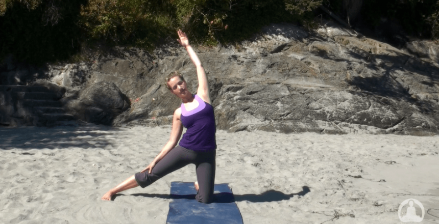 Fully Body Bend Stretch Beginners Yoga Practice