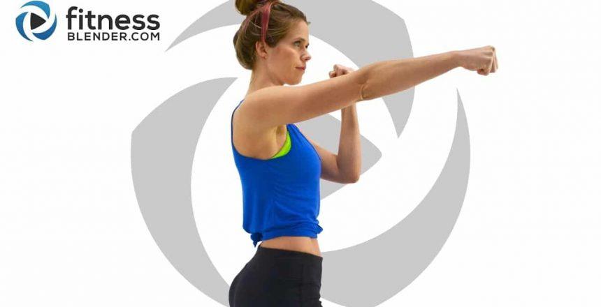 No Equipment Kickboxing Cardio Exercise